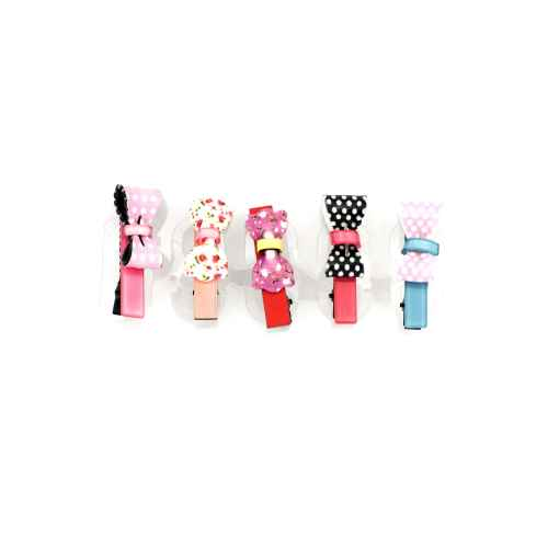 Pretty bows in my hair (Set of 6)