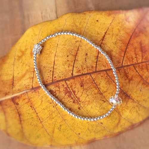 Crystal Wrap Swarovski crystal Bracelet