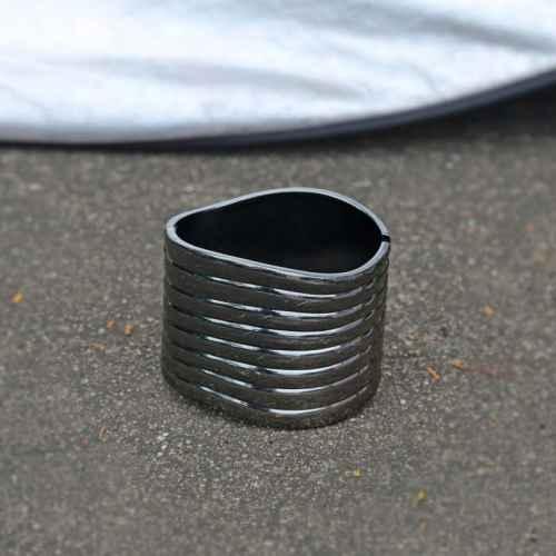 Black Wave Bracelet