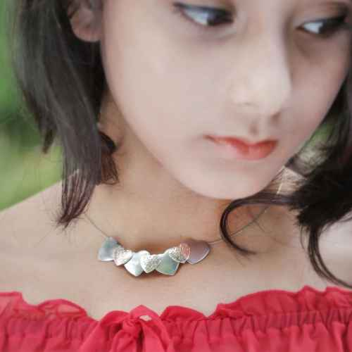 Little Hearts Choker Necklace
