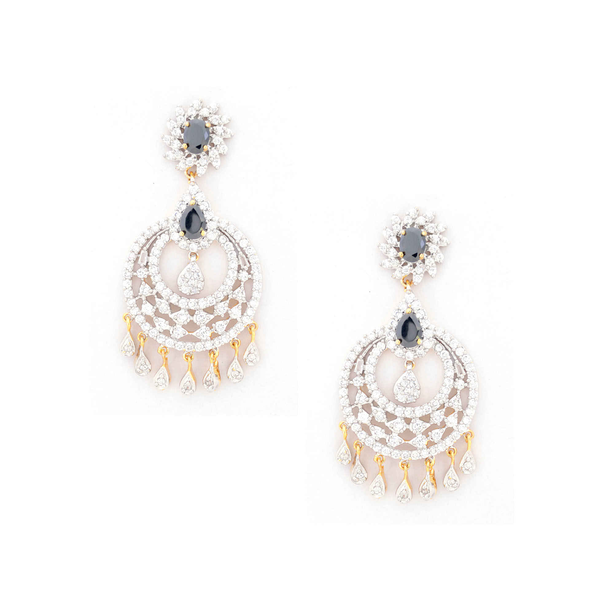 earrings by dress jewelry jewels wedding pearlcity american diamond with pearl pin drops
