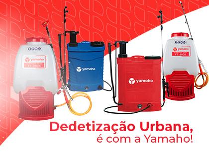 Dedetização Urbana, é com a yamaho!
