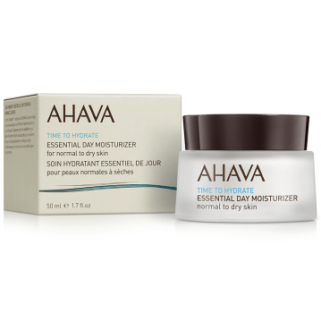 AHAVA Time to Hydrate Essential Day Moisturizer Normal to Dry Skin 50 ml