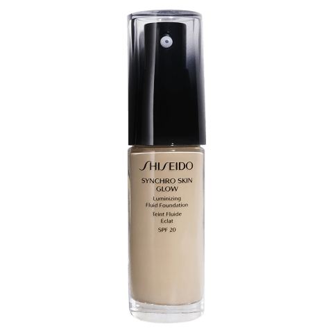 Shiseido Synchro Skin Glow Luminizing Fluid Foundation SPF 20 01 Rose 30 ml