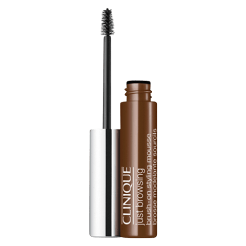 Clinique Just Browsing Brush-On Styling Mousse Eyebrow Gel 03 Deep Brown 2 ml