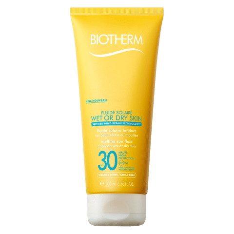 Biotherm Solaire Fluide Solaire - Wet or Dry Skin Sun Cream SPF 30 200 ml