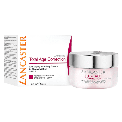 Lancaster Total Age Correction Amplified Rich Day Cream & Glow SPF 15 50 ml