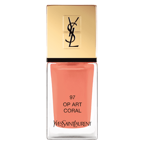 Yves Saint Laurent La Laque Couture Nail Polish 97 OP Art Coral 10 ml