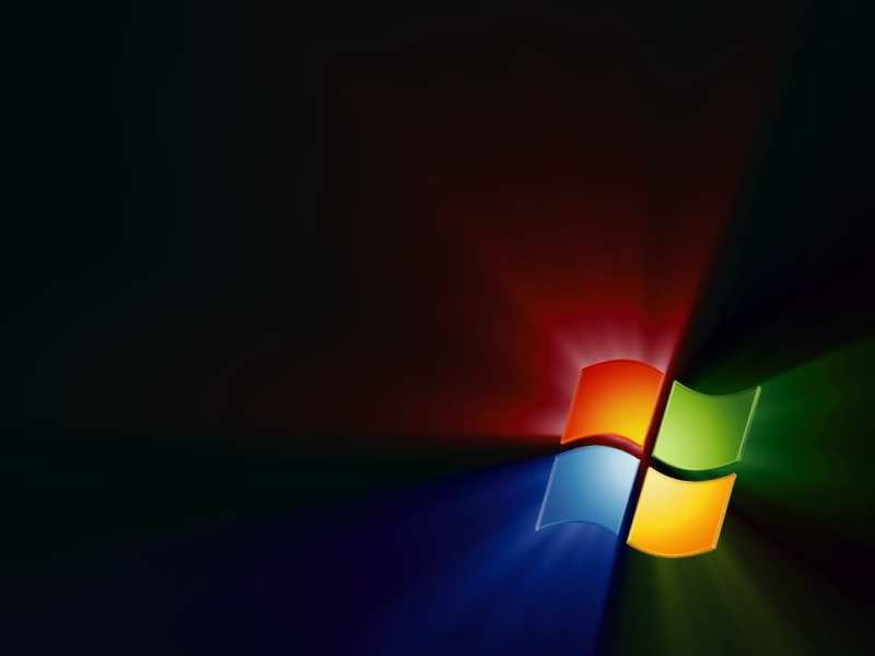 Windows bg Black