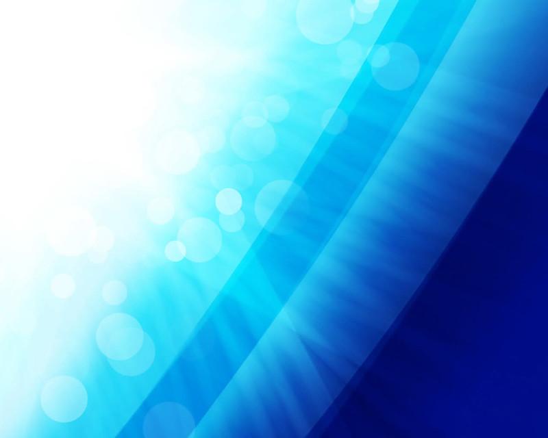 Blue Light Baloon