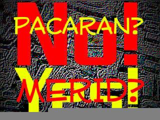 Pacaran NO, merid YES