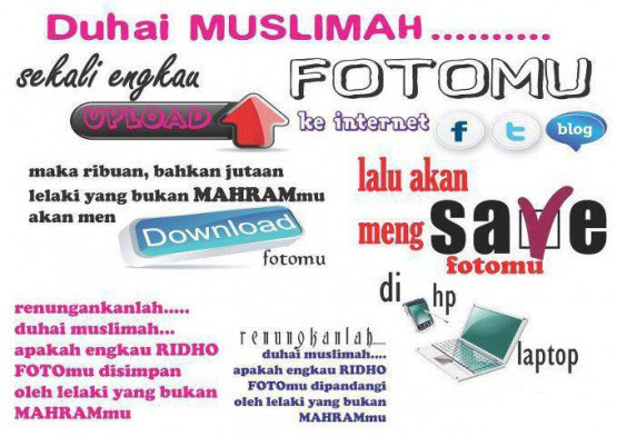pesan Buat para Muslimah