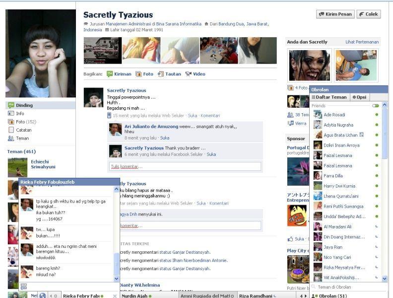 Tampilan Baru Profil Facebook