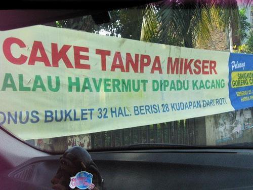 Cake Tanpa Mikser