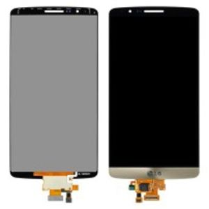 For LG G3 D855 LCD Display Gold  with frame