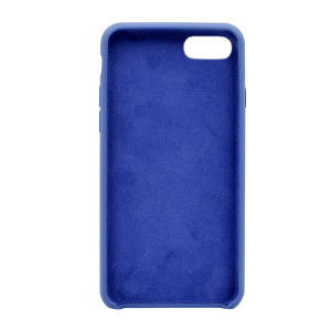 For iPhone 7 silicone case Blue