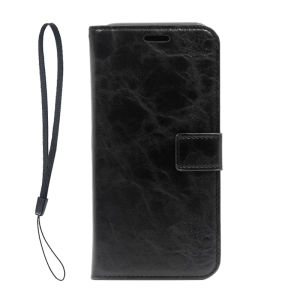 For Samsung Galaxy SM-G955F S8 Plus PU Leather Magnetic detachable  Case Black