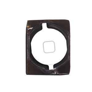For iPhone 4S Home Button Complete White