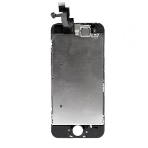 For iPhone 5S LCD Display OEM(TM) Black With Small Parts