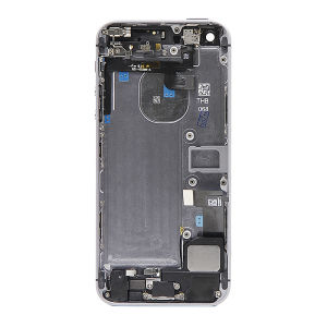 For iPhone SE Back Cover Gray