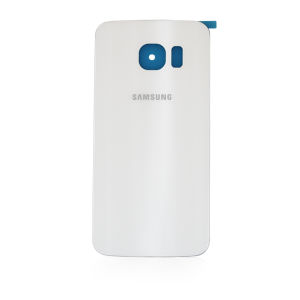 For Samsung Galaxy S6 Edge Back Cover White