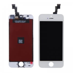 For iPhone 5S LCD White OEM