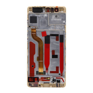 ForHuawei P9 LCD Display Original New Gold with frame