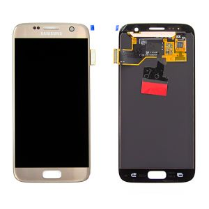 For Samsung SM-G930F S7 LCD Original Assembly Gold