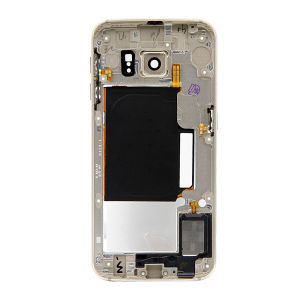 For Samsung Galaxy SM-G925F S6 Edge  Rear Housing Middle Frame Bezel Case Cover