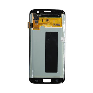 For Samsung SM-G935F S7 Edge LCD Original Assembly Gold With Frame