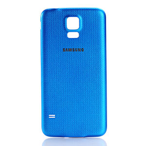 For Samsung Galaxy SM-G900 S5 Battery Cover Blue