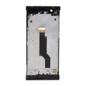 For Sony Xperia XA LCD Display Original Gold  with frame