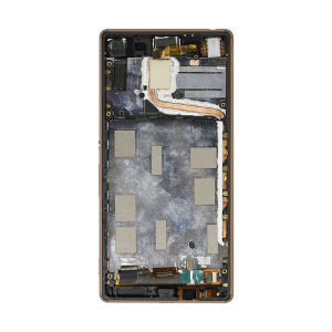 For Sony Xperia Z3 Plus LCD With Frame Original Gold