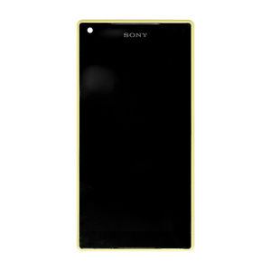 For Sony XperiaZ5 Compact LCD With Frame Original Yellow