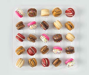 Shop Bite Size Macaron Assortments