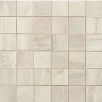 "Athena 2"" x 2"" Floor and Wall Mosaic in Pearl"