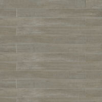 "Barrique 4"" x 40"" x 3/8"" Floor and Wall Tile in Gris"