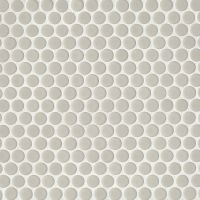 "360 3/4"" x 3/4"" Floor and Wall Mosaic in Off White"