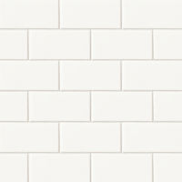 "Costa Allegra 3"" x 6"" x 5/16"" Floor and Wall Tile in White Sand"