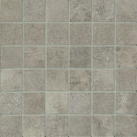 "Officine 2"" x 2"" Floor and Wall Mosaic in Dark (OF 03)"