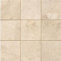"Cappuccino 4"" x 4"" x 3/8"" Floor and Wall Tile"