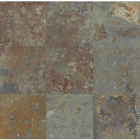 "Brazilian Multicolor 12"" x 12"" x 3/8"" Floor and Wall Tile"