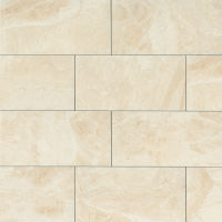 "Classic 12"" x 24"" x 3/8"" Floor and Wall Tile in Cremino"