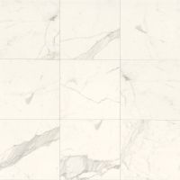 "Classic 18"" x 18"" x 3/8"" Floor and Wall Tile in Statuarietto"