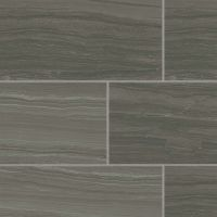 "Highland 18"" x 36"" Floor and Wall Tile in Dark Greige"