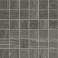 "Highland 2"" x 2"" Floor and Wall Mosaic in Dark Greige"