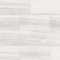 "Highland 12"" x 24"" Floor and Wall Tile in White"