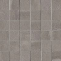 "Palazzo 2"" x 2"" Floor and Wall Mosaic in Vintage Grey"