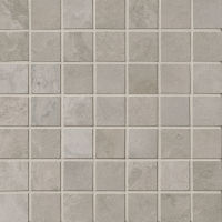 "Cemento 1-1/2"" x 1-1/2"" Floor and Wall Mosaic in Classico"