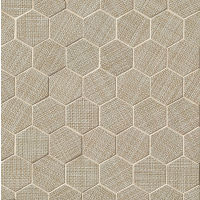 "Dagny 2"" x 2"" Floor and Wall Mosaic in Taupe"